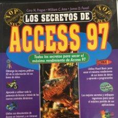 Libros de segunda mano: LOS SECRETOS DE ACCESS 97 - ANAYA. Lote 288313818