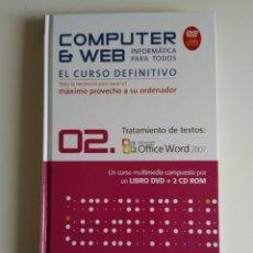 Libros de segunda mano: COMPUTER Y WEB TRATAMIENTO DE TEXTOS. Lote 288398173