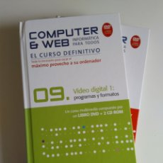 Libros de segunda mano: COMPUTER & WEB VIDEO DIGITAL 2 VOLUMENES. Lote 288400268