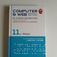 Libros de segunda mano: COMPUTER Y WEB MÚSICA. Lote 288404968
