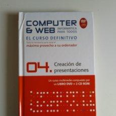Libros de segunda mano: COMPUTER Y WEB CREACIÓN DE PRESENTACIONES. Lote 288405153