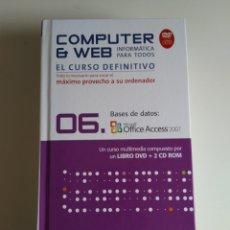 Libros de segunda mano: COMPUTER Y WEB BASES DE DATOS. Lote 288405518