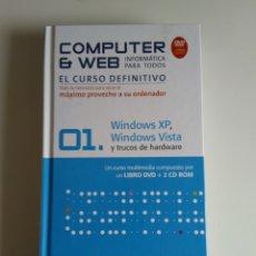 Libros de segunda mano: COMPUTER Y WEB WINDOWS XP, WINDOWS VISTA. Lote 288405753