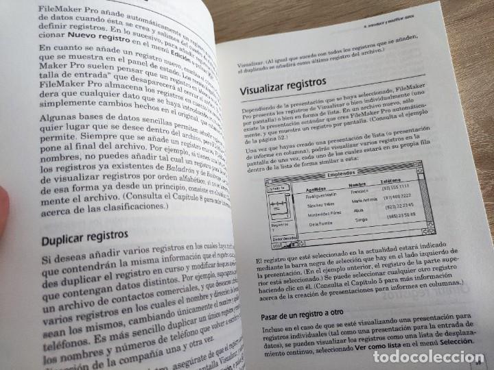 Libros de segunda mano: LIBRO 1992 - GUIA LA BIBLIA DE MACINTOSH SOBRE FILEMAKER PRO - BASE DE DATOS - 500GR - Foto 2 - 288534393