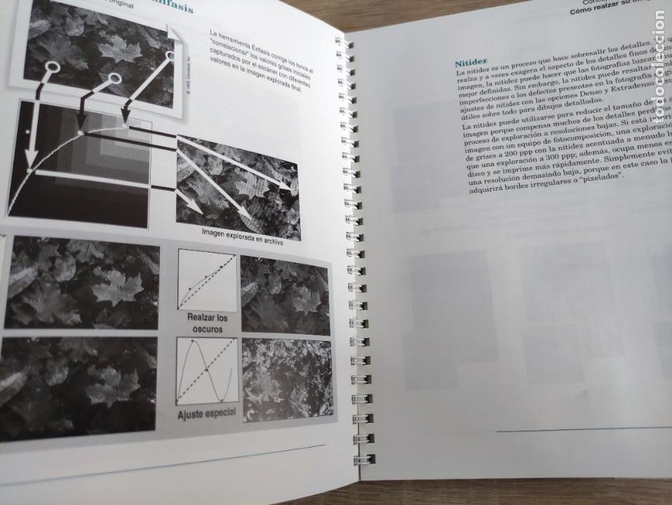 Libros de segunda mano: LIBRO 1993 - GUIA DEL USUARIO DE HEWLETT PACKARD HP DESKSCAN II - ESCANER - 400GR - Foto 3 - 288535218