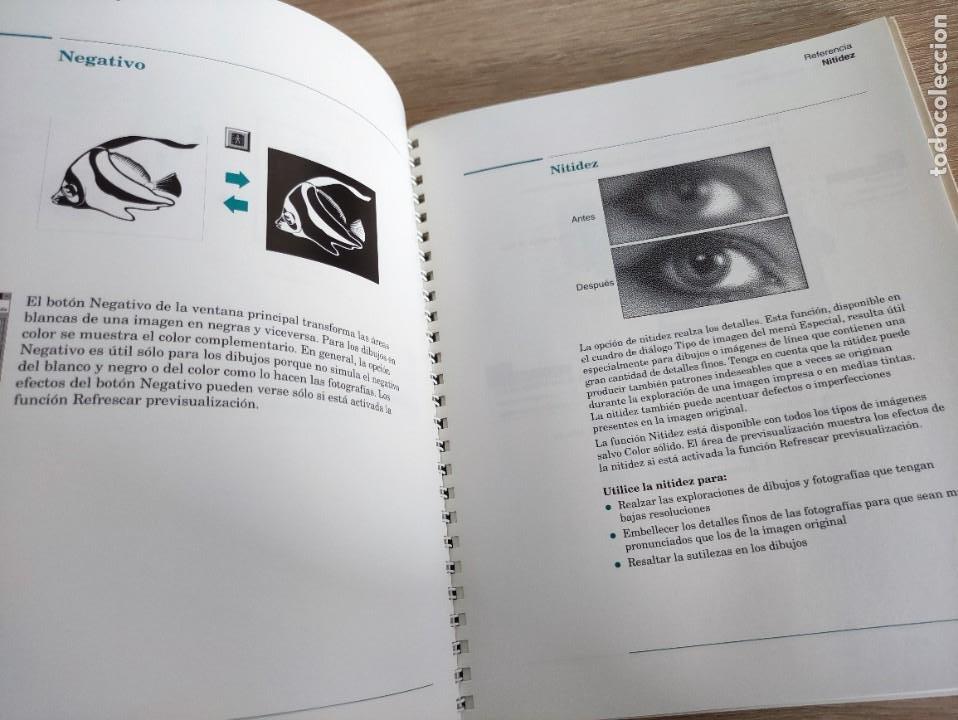 Libros de segunda mano: LIBRO 1993 - GUIA DEL USUARIO DE HEWLETT PACKARD HP DESKSCAN II - ESCANER - 400GR - Foto 2 - 288535218