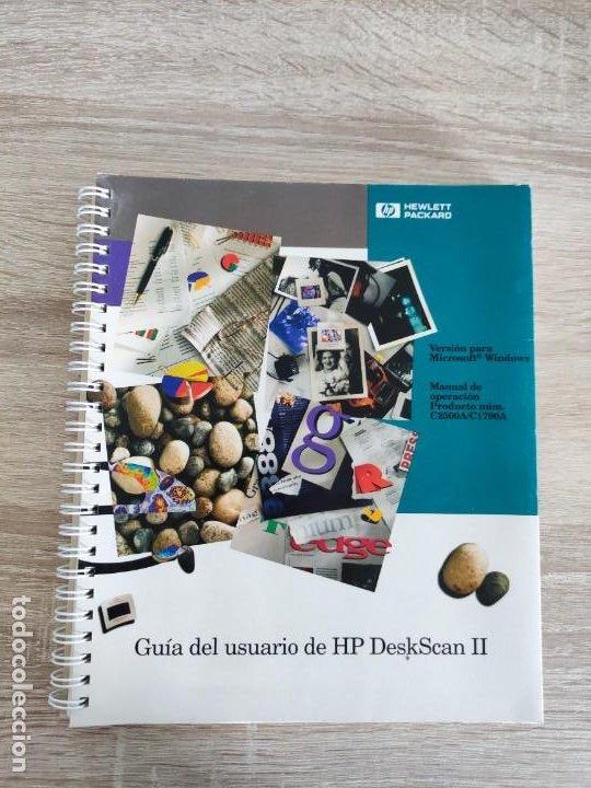 LIBRO 1993 - GUIA DEL USUARIO DE HEWLETT PACKARD HP DESKSCAN II - ESCANER - 400GR (Libros de Segunda Mano - Informática)