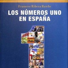 Libros de segunda mano: LOS NÚMEROS UNO EN ESPAÑA. Lote 162738644