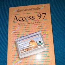 Libros de segunda mano: GUIA INICIACIÓN ACCESS 97, PABLO J. GARCÍA NÚÑEZ, ANAYA MULTIMEDIA. Lote 289764668
