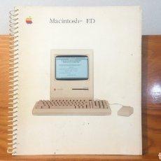 Libros de segunda mano: MACINTOSH™ ED ~ APPLE COMPUTER ESPANA S.A. ~ JOSMAR , S.A. - MADRID 1987 ~ GUIA APPLE. Lote 292558998