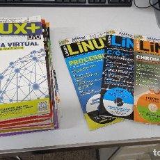 Livros em segunda mão: LOTE DE REVISTAS LINUX+DVD (EDICIÓN EN ESPAÑOL): Nº 1-60 (FALTAN Nº 4, 5, 11, 24 Y 53). Lote 293210928