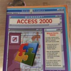 Libros de segunda mano: 3.2 MICROSOFT ACCESS 2000 ANAYA. GUÍA VIRTUAL. MIGUEL PARDO NIEBLA. Lote 293881898