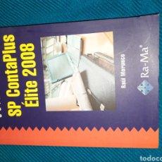 Libros de segunda mano: SP CONTAPLUS ÉLITE 2008,GUIA DE CAMPO RAÚL MORUECO. RA-MA. Lote 293973688