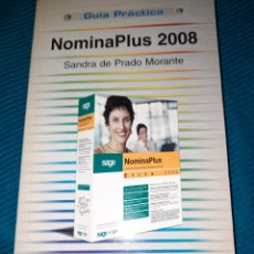 Libros de segunda mano: GUIA PRÁCTICA NÓMINAPLUS 2008, SANDRA DE PRADO MORANTE. ANAYA. Lote 293976358
