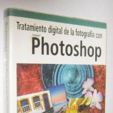 Libros de segunda mano: TRATAMIENTO DIGITAL DE LA FOTOGRAFIA CON PHOTOSHOP - JACK DAVIS - INCLUYE CD-ROM. Lote 295443018