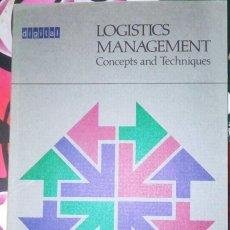 Libros de segunda mano: DIGITAL LOGISTICS MANAGEMENT - CONCEPTS AND TECHNIQUES. Lote 295529508