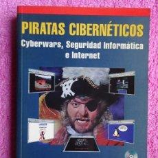 Libros de segunda mano: PIRATAS CIBERNÉTICOS JESÚS DE MARCELO EDITORIAL RA-MA 2001 CYBERWARS SEGURIDAD INFORMÁTICA CD-ROM. Lote 297079848