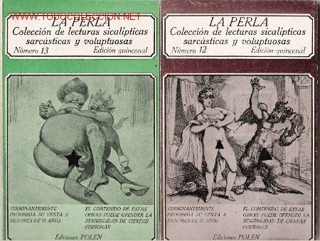 LA PERLA [RELATOS ERÓTICOS] (Libros de Segunda Mano (posteriores a 1936) - Literatura - Narrativa - Erótica)