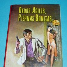 Libros de segunda mano: DEDOS ÁGILES, PIERNAS BONITAS. ROBERT DELANEY ( L07 ). Lote 25209061