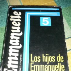 Libros de segunda mano: EMMANUELLE 5, LOS HIJOS DE EMMANUELLE, POR EMMANUELLE ARSAN. Lote 22369676