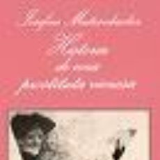 Libros de segunda mano: HISTORIA DE UNA PROSTITUTA VIENESA DE JOSEFINE MUTZENBACHER (TUSQUETS). Lote 18072972