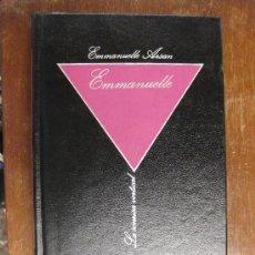 Libros de segunda mano: EMMANUELLE. LA LECCIÓN DE HOMBRE.EMMANUELLE ARSAN. BIBLIOTECA DE EROTISMO 1984.LA SONRISA VERTICAL. . Lote 23791788