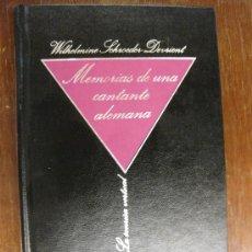 Libros de segunda mano: MEMORIAS DE UNA CANTANTE ALEMANA. BIBL.W.S-DEVRIENT.B. DE EROTISMO 1984,Nº 9 . LA SONRISA VERTICAL.. Lote 23791786