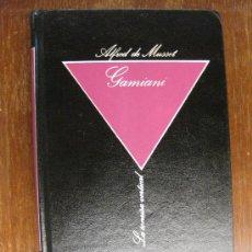 Libros de segunda mano: GAMIANI. ALFRED DE MUSSET.BIBLIOTECA DE EROTISMO 1984,Nº 13 . LA SONRISA VERTICAL.. Lote 23791790