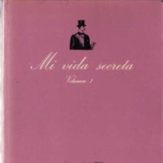 Libros de segunda mano: ANÓNIMO - MI VIDA SECRETA VOL. I - LA SONRISA VERTICAL Nº 8 - TUSQUETS EDIT. - 1979. Lote 29767313