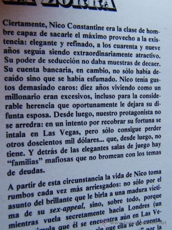 Libros de segunda mano: LA ZORRA-THE BITCH-JACKIE COLLINS AUTORA EL SEMENTAL-JOAN-MAFIA LAS VEGAS-1979-1ª EDICION ESPAÑOL. - Foto 2 - 30572236