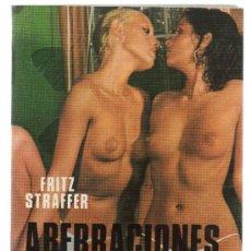 Libros de segunda mano: ABERRACIONES SEXUALES. FRITZ STRAFFER. AÑO 1977.. Lote 30912421