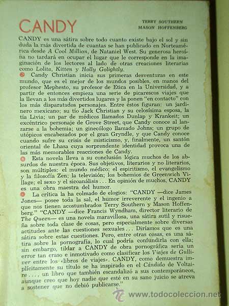 Libros de segunda mano: CANDY. TERRY SOUTHERN Y MASON HOFFENBERG. EDITORIAL GRIJALBO, MÉXICO 1966. TRADUCE ADRIÁN CELAYA. ++ - Foto 2 - 31195248