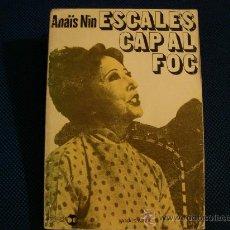 Libros de segunda mano: (339) ESCALES CAP AL FOC. Lote 31265608