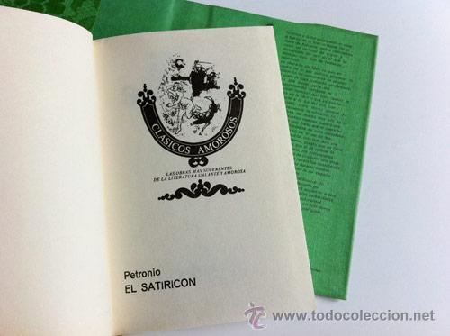 Libros de segunda mano: PETRONIO - EL SATIRICÓN (ED. ÍNTEGRA) - ED. 29 / DISCOLIBRIO 1973 - Foto 3 - 31808633
