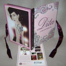 Livres d'occasion: DITA VON TEESE. PACK ESPECIAL. LIBRO. JOYA BIBLIOGRÁFICA. STRIPTEESE. FETISH DIVA.BDSM. 3 LIBROS. Lote 153151966