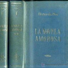Libros de segunda mano: EL ARCO DE EROS - LA NOVELA AMOROSA -DOS TOMOS, 2700 PÁGINAS, ILUSTRACIONES.. Lote 32370022