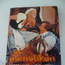 Libros de segunda mano: NOVELA EROTICA - EL PORNOTIKON - MARAVILLAS DE LA NOVELA EROTICA - EDICIONES 29. Lote 32728471