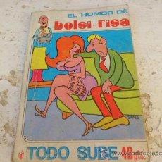 Libros de segunda mano: LIBRO EL HUMOR DE BOLSI-RISA TODO SUBE L.23909. Lote 35083403