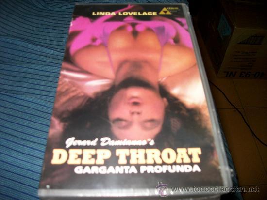 GARGANTA PROFUNDA - VHS - PRECINTADA - DEEP THROAT - LINDA LOVELACE (Libros de Segunda Mano (posteriores a 1936) - Literatura - Narrativa - Erótica)