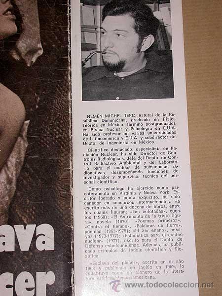 Libros de segunda mano: ESCLAVA DEL PLACER. NEMÉN MICHEL TERC. COMETA, 1980. LITERATURA ERÓTICA HISPANOAMERICANA. +++++ - Foto 2 - 75556322
