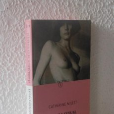 Libros de segunda mano: LA VIDA SEXUAL DE CATHERINE M - CATHERINE MILLET. Lote 38257390