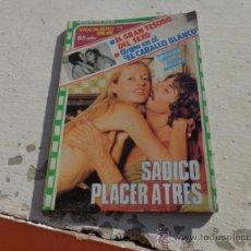 Libros de segunda mano: LIBRO SADICO PLACER VIDEOLIBRO SERIE AZUL 73 N-1303. Lote 38934302