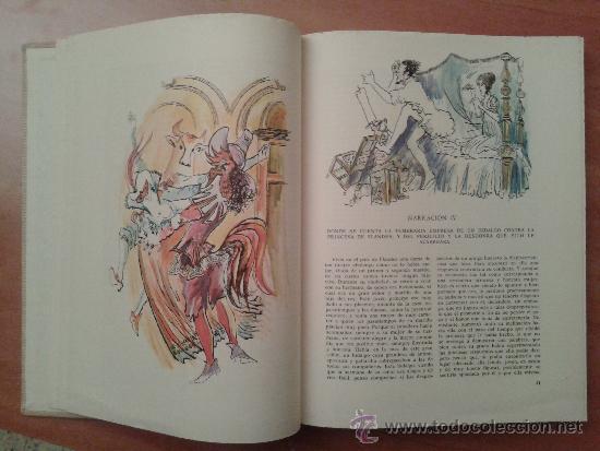 Libros de segunda mano: 1966 EL HEPTAMERÓN - MARGARITA DE VALOIS / ILUSTRADO 110 DIBUJOS DE MUNOA / EDICIÓN LIMITADA - Foto 3 - 39063561