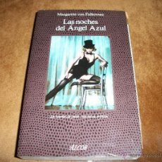 Libros de segunda mano: LAS NOCHES DEL ÁNGEL AZUL.. Lote 40737454