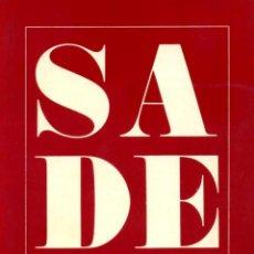 Libros de segunda mano: SADE ILUSTRADO. Lote 41056891