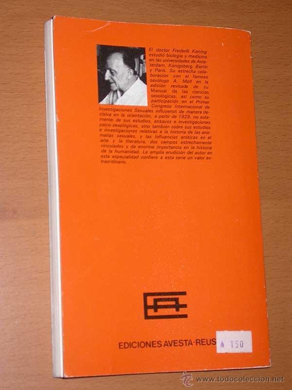 Libros de segunda mano: DEMOCRACIA, EROTISMO Y PORNOGRAFÍA. DR. FREDERICK KONING. MONOGRAFÍAS SEXOLÓGICAS Nº 1. AVESTA, 1978 - Foto 5 - 41071435