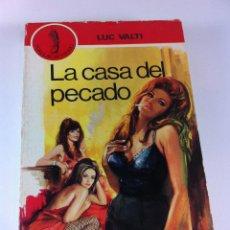 Libros de segunda mano: LA CASA DEL PECADO DE LUC VALTI, POPULAR PETRONIO. (1969). Lote 41442429