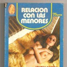 Libros de segunda mano: RELACIÓN CON LAS MENORES. Lote 41487133