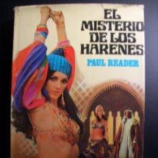Libros de segunda mano: EL MISTERIO DE LOS HARENES.1973. Lote 41679472