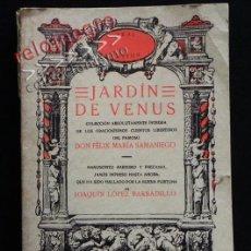 Libros de segunda mano: JARDÍN DE VENUS - FÉLIX MARÍA SAMANIEGO - EDICIÓN ÍNTEGRA - CUENTOS LIBERTINOS - ERÓTICA LIBRO AKAL. Lote 42313514